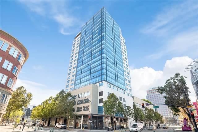88 E San Fernando St 807, San Jose, CA 95113 (#ML81818004) :: Schneider Estates