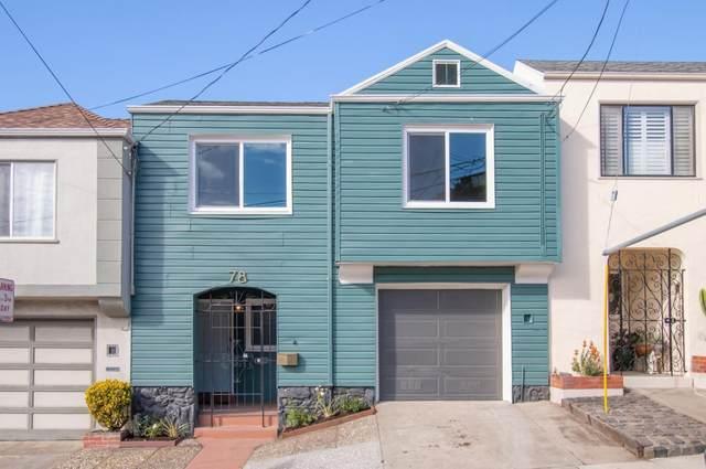 78 Ina Ct, San Francisco, CA 94112 (#ML81821093) :: Real Estate Experts