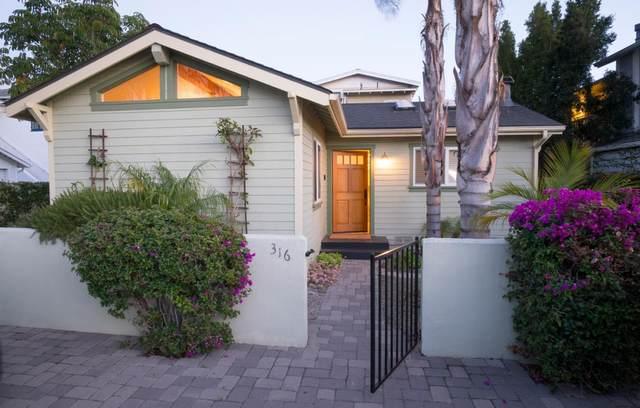316 W Pedregosa St, Santa Barbara, CA 93101 (#ML81821364) :: The Realty Society