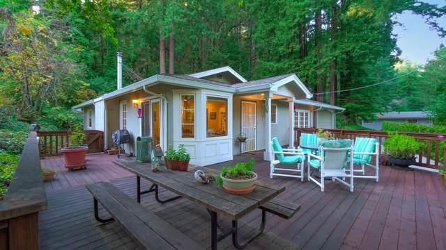 344 Saint Francis Dr, Boulder Creek, CA 95006 (#ML81821893) :: The Kulda Real Estate Group