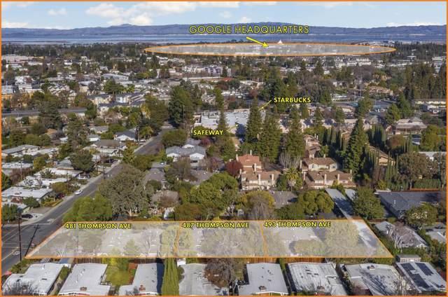 481-493 Thompson Ave, Mountain View, CA 94043 (#ML81825572) :: Olga Golovko