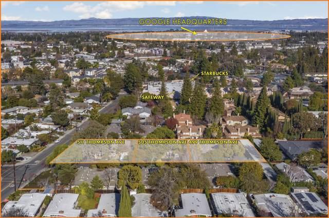 499-511 Thompson Ave, Mountain View, CA 94043 (#ML81825574) :: Olga Golovko