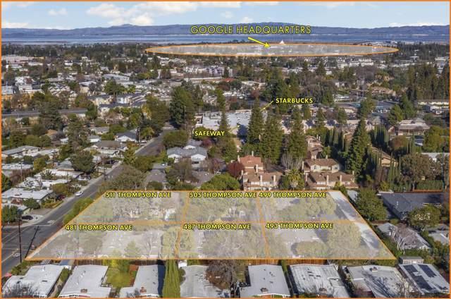 481-511 Thompson Ave, Mountain View, CA 94043 (#ML81825575) :: Olga Golovko