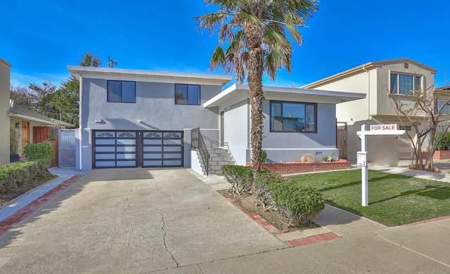 289 Westview Dr, South San Francisco, CA 94080 (#ML81825786) :: Schneider Estates