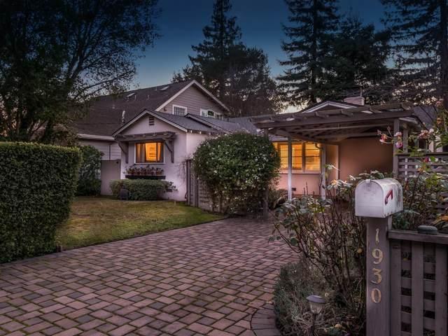 1930 Santa Cruz Ave, Menlo Park, CA 94025 (#ML81825984) :: Real Estate Experts
