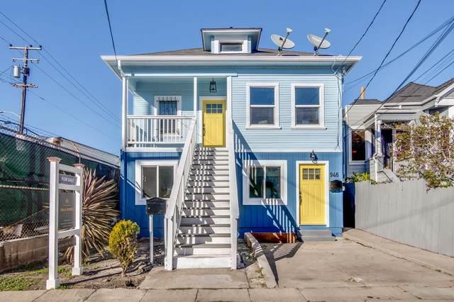 946 Aileen St, Oakland, CA 94608 (#ML81827126) :: The Goss Real Estate Group, Keller Williams Bay Area Estates