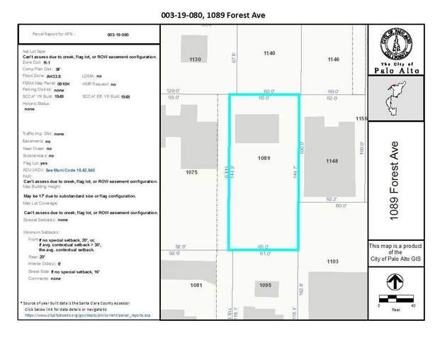 1089 Forest Ave, Palo Alto, CA 94301 (#ML81827419) :: Intero Real Estate