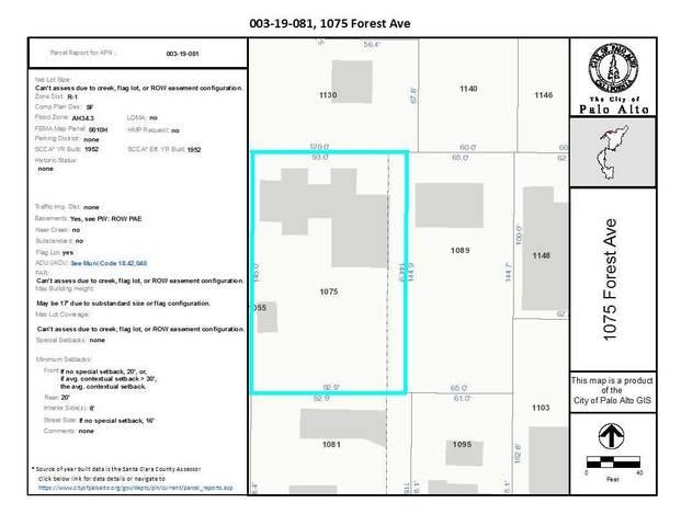 1075 Forest Ave, Palo Alto, CA 94301 (#ML81827422) :: The Goss Real Estate Group, Keller Williams Bay Area Estates