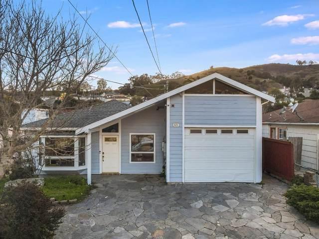 621 Hillside Blvd, South San Francisco, CA 94080 (#ML81829589) :: The Gilmartin Group