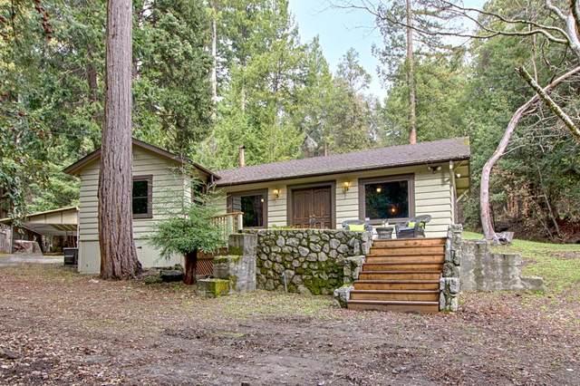 14890 Big Basin Way, Boulder Creek, CA 95006 (#ML81830757) :: The Goss Real Estate Group, Keller Williams Bay Area Estates