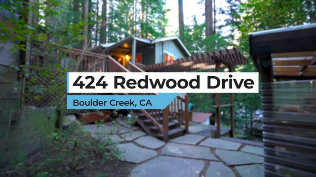 424 Redwood Dr, Boulder Creek, CA 95006 (MLS #ML81832269) :: Compass