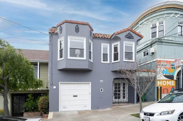 2419 27th Ave, San Francisco, CA 94116 (#ML81834748) :: Intero Real Estate