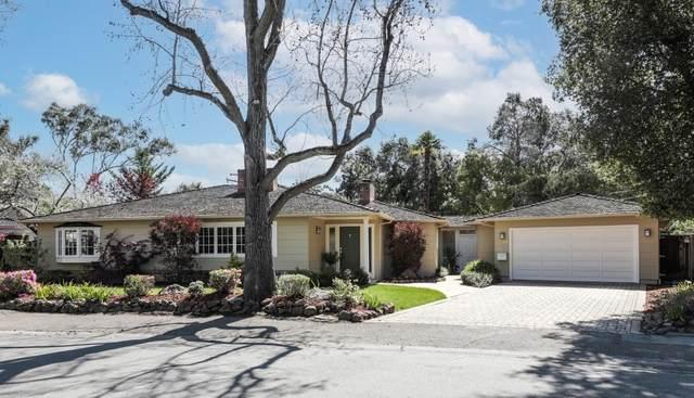 1805 Bay Laurel Dr, Menlo Park, CA 94025 (#ML81837414) :: The Sean Cooper Real Estate Group