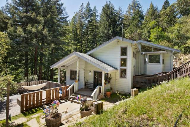 18050 Two Bar Rd, Boulder Creek, CA 95006 (#ML81838855) :: The Goss Real Estate Group, Keller Williams Bay Area Estates