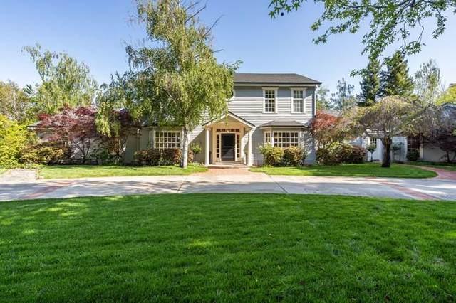280 Ridgeway Rd, Woodside, CA 94062 (#ML81841555) :: The Kulda Real Estate Group
