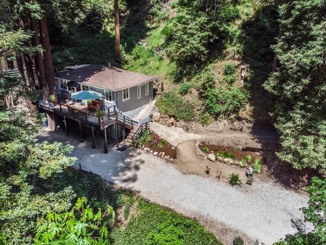 150 Hubbard Gulch Rd, Ben Lomond, CA 95005 (#ML81842884) :: Schneider Estates