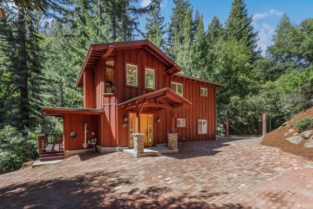 975 Logan Creek, Boulder Creek, CA 95006 (#ML81843585) :: Live Play Silicon Valley
