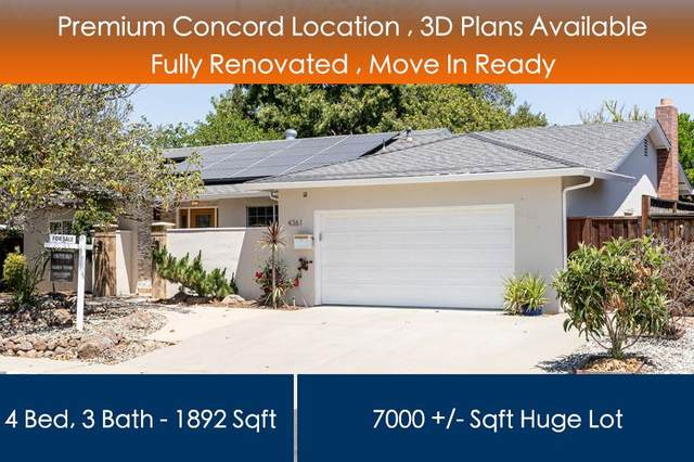 4361 Armand Dr, Concord, CA 94521 (#ML81843751) :: Live Play Silicon Valley