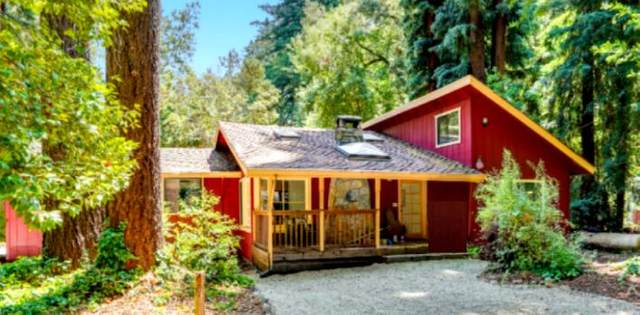 460 Manzanita Rd, Boulder Creek, CA 95006 (#ML81843803) :: Real Estate Experts