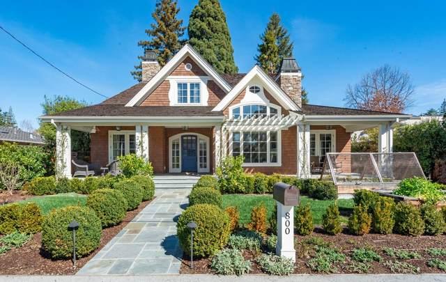 800 Magnolia St, Menlo Park, CA 94025 (#ML81845243) :: The Goss Real Estate Group, Keller Williams Bay Area Estates