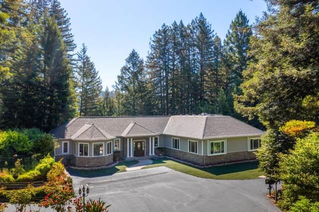 303 Sanborn Lane, Felton, CA 95018 (#ML81846042) :: The Kulda Real Estate Group