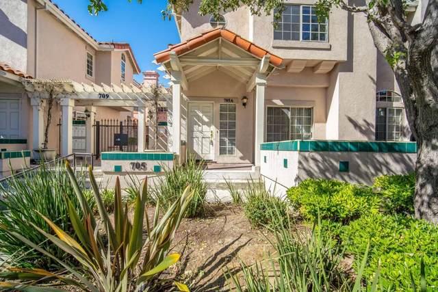 705 Woodside Way A, San Mateo, CA 94401 (#ML81846133) :: The Realty Society