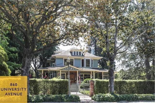 860 University Ave, Palo Alto, CA 94301 (#ML81846477) :: The Kulda Real Estate Group