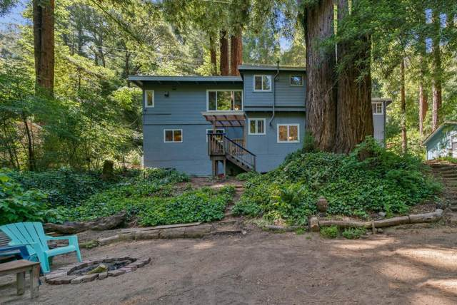 10614 E Zayante Rd, Felton, CA 95018 (#ML81847215) :: Real Estate Experts