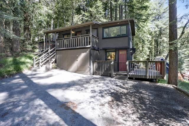 354 West Dr, Felton, CA 95018 (#ML81848436) :: Real Estate Experts
