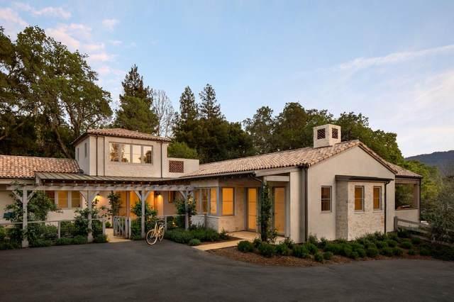 156 Romero Rd, Woodside, CA 94062 (#ML81849147) :: The Kulda Real Estate Group