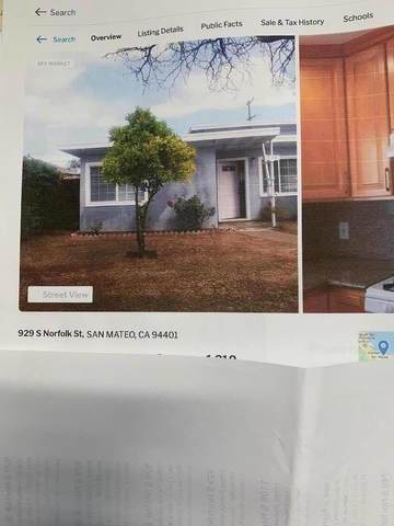 929 S Norfolk St, San Mateo, CA 94401 (#ML81849501) :: Strock Real Estate