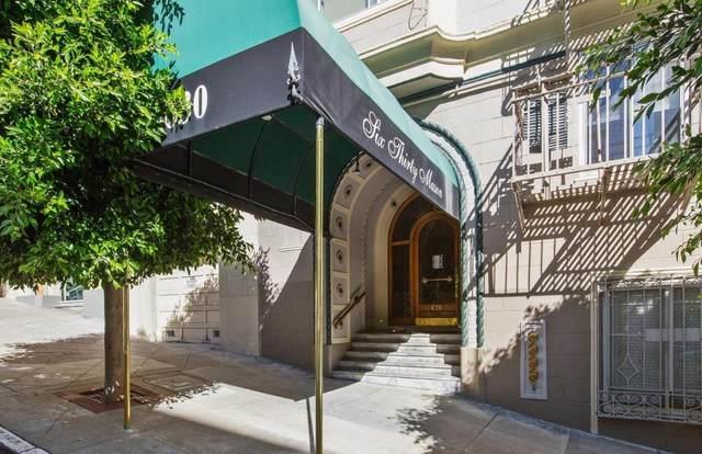 630 Mason St 401, San Francisco, CA 94108 (#ML81851158) :: The Sean Cooper Real Estate Group