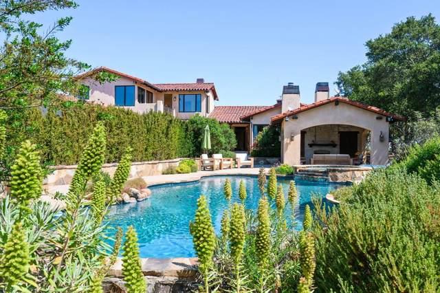960 Laureles Grade Rd, Carmel Valley, CA 93924 (#ML81851741) :: The Sean Cooper Real Estate Group