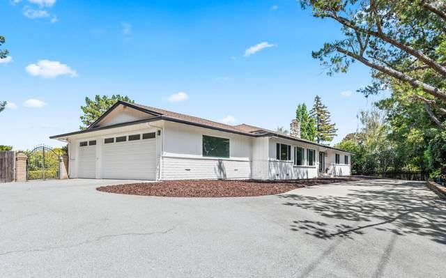 6185 Skyline Blvd, Hillsborough, CA 94010 (#ML81852971) :: The Kulda Real Estate Group