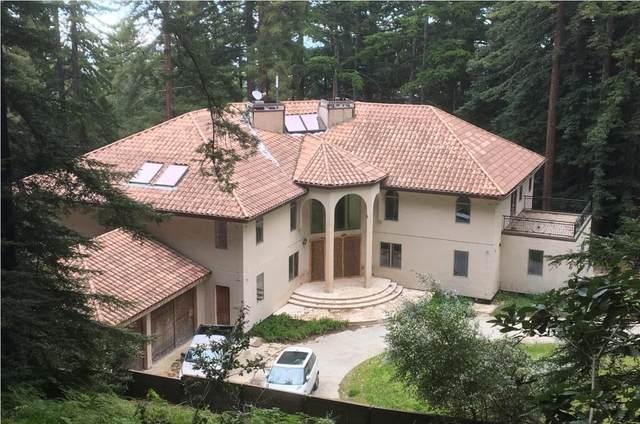 1 Reids Roost Rd, Woodside, CA 94062 (#ML81854209) :: The Gilmartin Group
