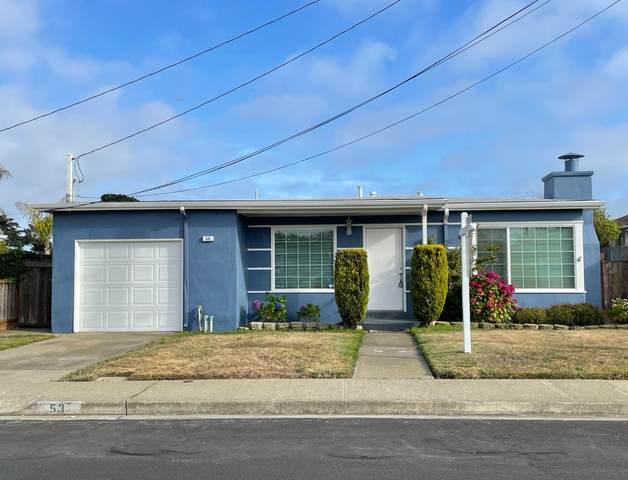 53 Calvert Ave, South San Francisco, CA 94080 (#ML81855070) :: The Kulda Real Estate Group