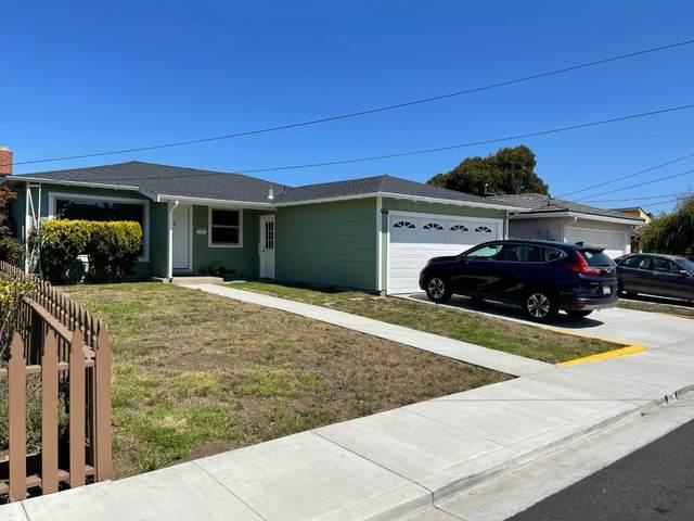 1128 Balboa Way, Pacifica, CA 94044 (#ML81855126) :: The Kulda Real Estate Group
