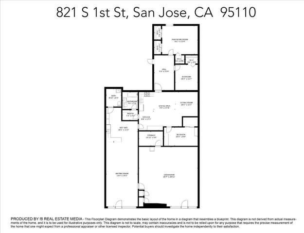 821 S 1st St, San Jose, CA 95110 (#ML81855725) :: Olga Golovko
