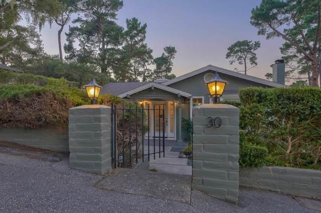 30 Cuesta Vista Dr, Monterey, CA 93940 (#ML81856035) :: Live Play Silicon Valley