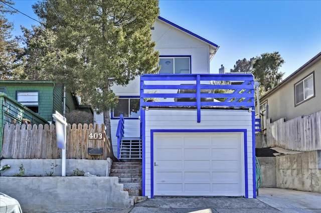 403 Alvarado St, Brisbane, CA 94005 (#ML81860746) :: Real Estate Experts