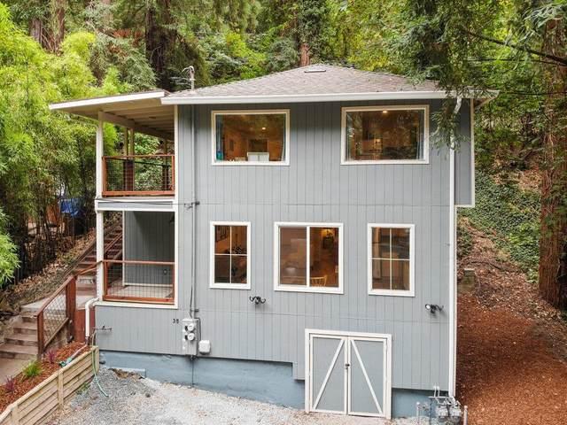 35 Park Way, Mount Hermon, CA 95041 (#ML81860813) :: The Goss Real Estate Group, Keller Williams Bay Area Estates