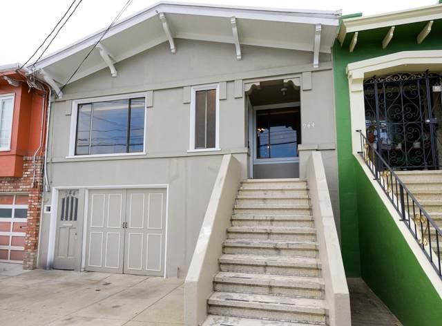 942 Naples St, San Francisco, CA 94112 (#ML81863593) :: The Sean Cooper Real Estate Group