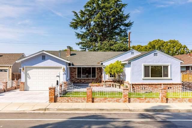 570 Saratoga Ave, Santa Clara, CA 95050 (#ML81866214) :: Live Play Silicon Valley