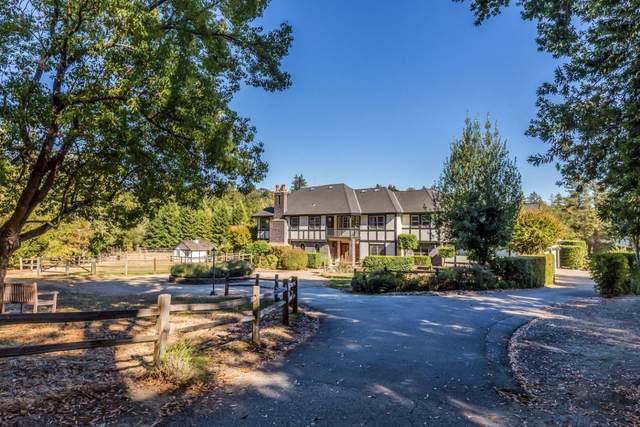 4175 Woodside Rd, Woodside, CA 94062 (#ML81866568) :: The Kulda Real Estate Group