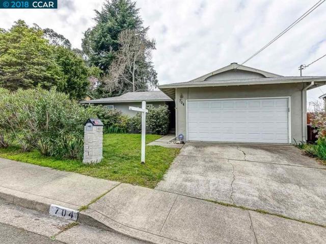 704 Crestview Drive, Pinole, CA 94564 (#CC40814861) :: The Kulda Real Estate Group