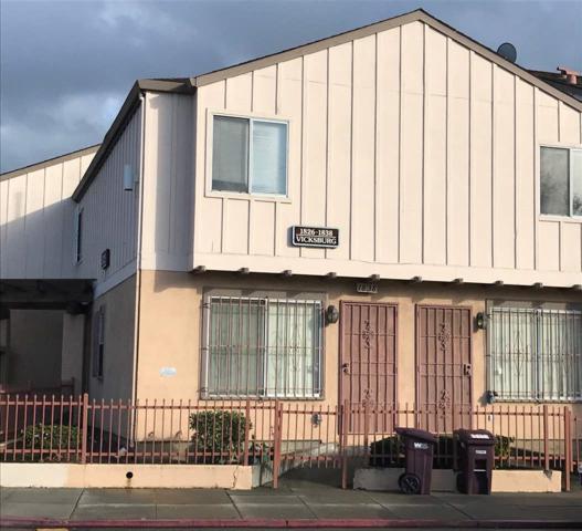1836 Vicksburg Avenue, Oakland, CA 94601 (#EB40808593) :: Astute Realty Inc