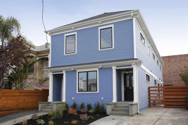 1428 Peralta, Oakland, CA 94607 (#EB40809331) :: The Kulda Real Estate Group