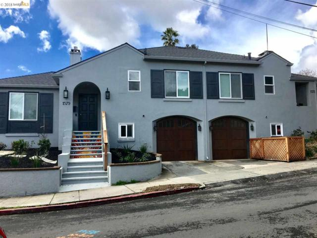 1571 Vista St, Oakland, CA 94602 (#EB40814976) :: RE/MAX Real Estate Services