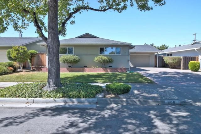 805 Fife Way, Sunnyvale, CA 94087 (#ML81671160) :: von Kaenel Real Estate Group