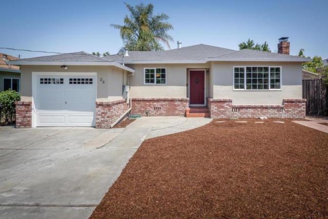 23 Burbank Ave, Redwood City, CA 94063 (#ML81673672) :: The Gilmartin Group